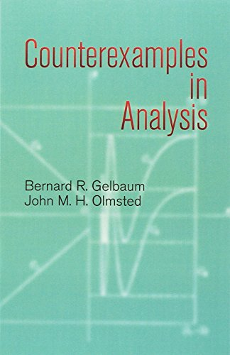 9780486428758: Counterexamples in Analysis (Dover Books on Mathematics)
