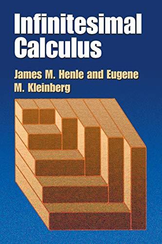 9780486428864: Infinitesimal Calculus