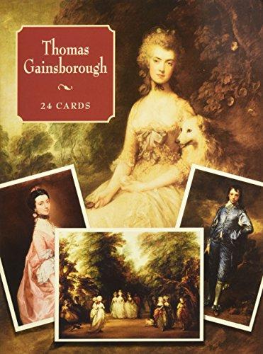 9780486428932: Thomas Gainsborough: 24 Cards (Dover Postcards)