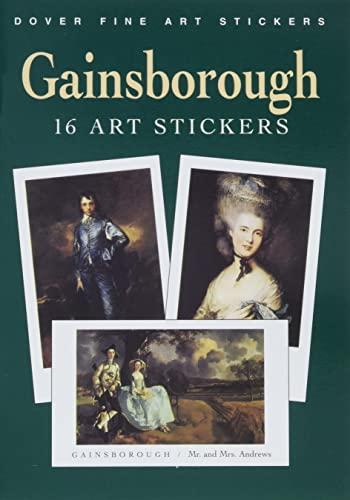 Gainsborough: 16 Art Stickers (Paperback): Thomas Gainsborough