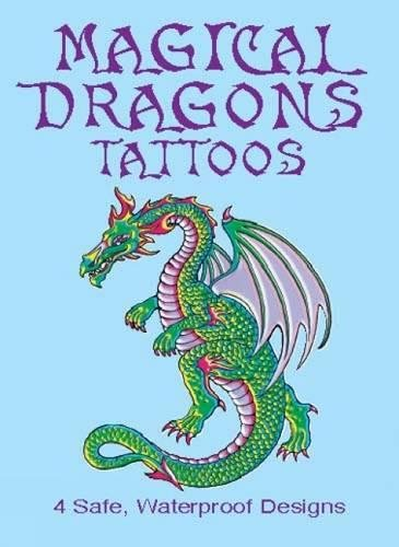 MAGICAL DRAGONS TATTOOS (4 different designs) (