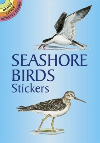 9780486430058: Seashore Birds Stickers (Dover Little Activity Books Stickers)