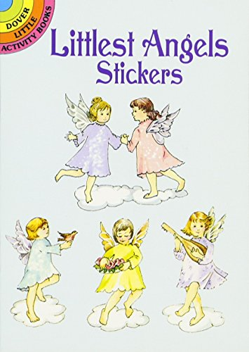 9780486430072: Littlest Angels Stickers (Dover Little Activity Books Stickers)
