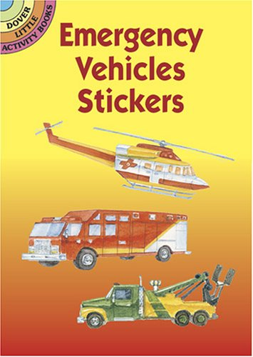 9780486430096: Emergency Vehicles Stickers (Dover Little Activity Books Stickers)
