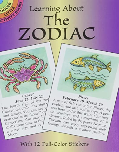 9780486430249: Learning About the Zodiac (Dover Little Activity Books)