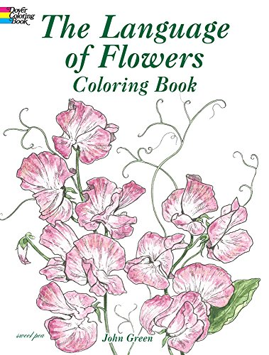 9780486430355: The Language of Flowers Coloring Book (Dover Nature Coloring Book)