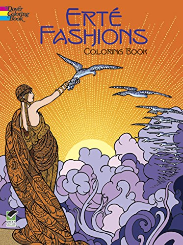 9780486430416: Erte Fashions Coloring Book (Dover Pictorial Archives)