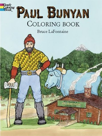 9780486430430: Paul Bunyan Coloring Book (Dover Pictorial Archives)