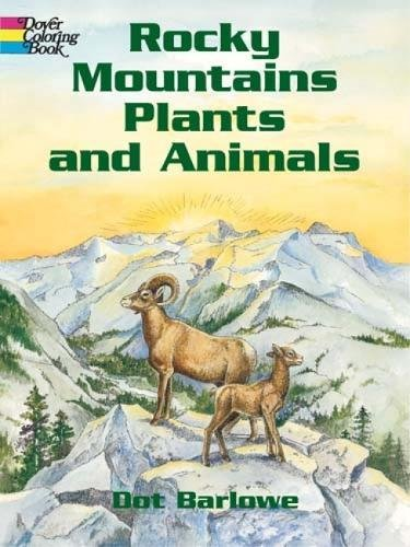 9780486430454: Rocky Mountains Plants and Animals (Dover Nature Coloring Book)