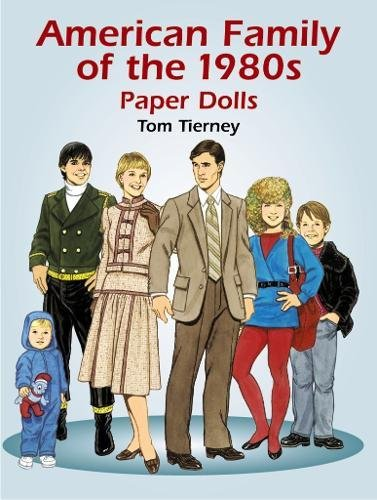 9780486430522: American Family of the 1980's Paper Dolls