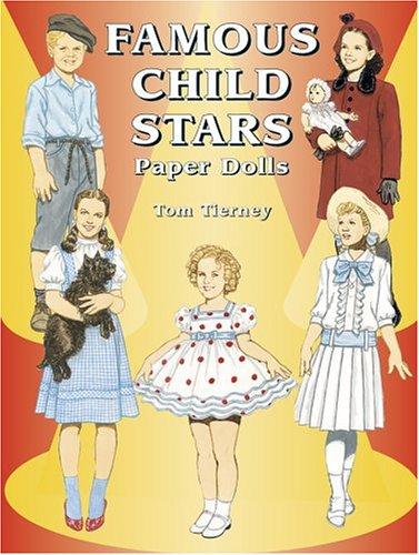 9780486430577: Famous Child Stars Paper Dolls