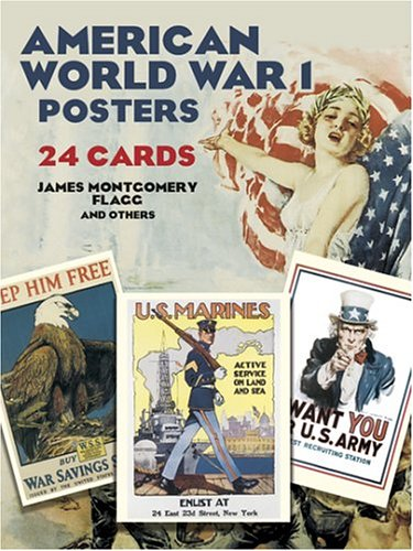 9780486430621: American World War I Posters: 24 Cards (Dover Postcards)