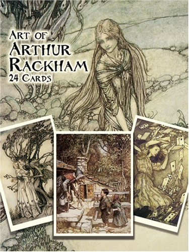 9780486430645: Art of Arthur Rackham: 24 Cards (Dover Postcards)