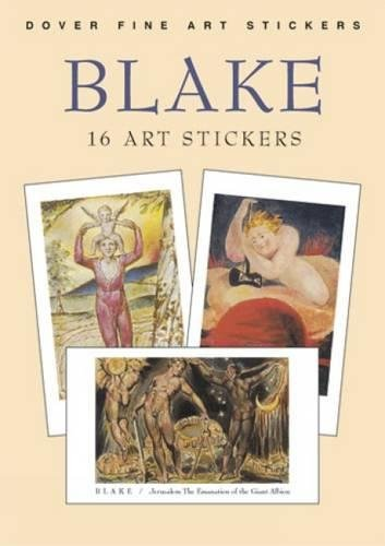 9780486430683: Blake: 16 Art Stickers