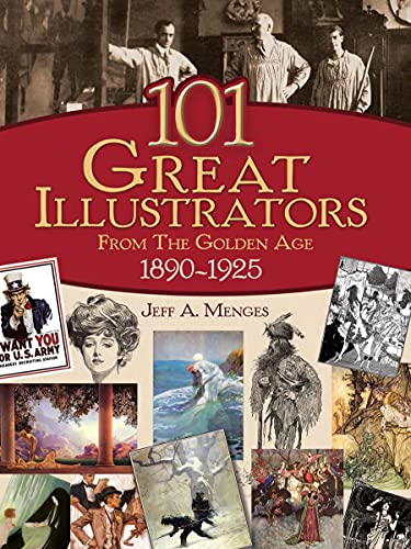 9780486430812: 101 Great Illustrators from the Golden Age, 1890-1925