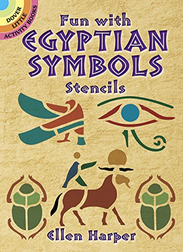 9780486431093: Fun With Egyptian Symbols Stencils
