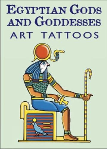 9780486431109: Egyptian Gods and Goddesses Art Tat (Dover Tattoos)