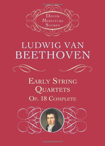 9780486431338: Early String Quartets: Op. 18 Complete (Dover Miniature Music Scores)