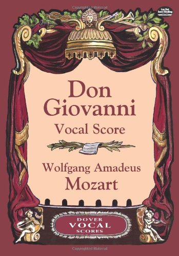 9780486431550: Don Giovanni Vocal Score: The Libertine Punished, or Don Juan : Opera Buffa in Two Acts