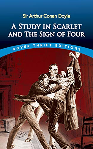 9780486431666: A Study in Scarlet and The Sign of Four (Dover Thrift Editions)