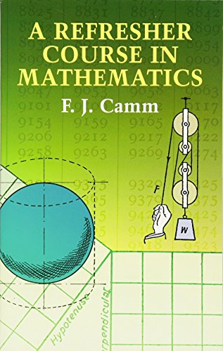 9780486432250: A Refresher Course in Mathematics
