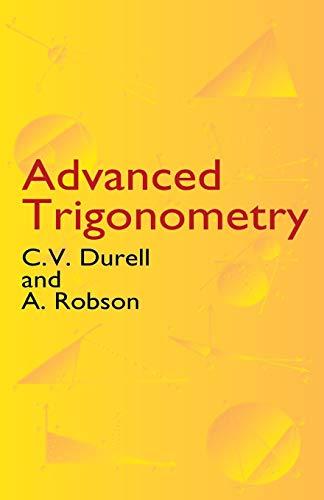 9780486432298: Advanced Trigonometry