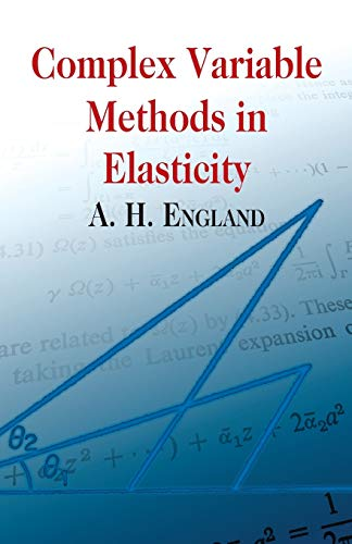 9780486432304: Complex Variable Methods in Elasticity (Dover Books on Mathematics)