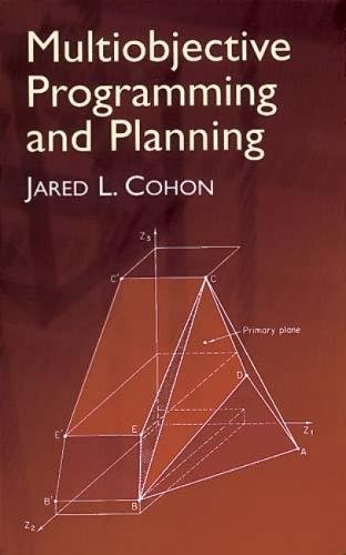 9780486432632: Multiobjective Programming and Planning (Dover Books on Computer Science)