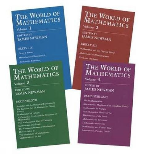 9780486432687: The World of Mathematics: A Four-Volume Set