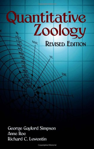9780486432755: Quantitative Zoology: Revised Edition (Dover Books on Biology, Psychology, and Medicine)