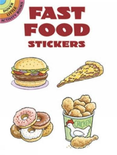 9780486433073: Fast Food Stickers