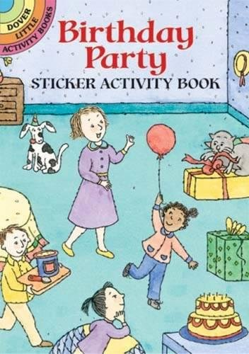 9780486433097: Birthday Party Sticker Activity Book (Dover Little Activity Books) (Vol i)