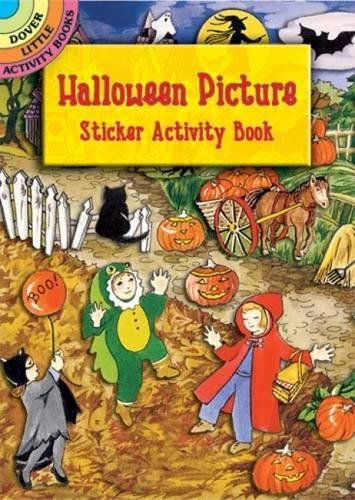 9780486433103: Halloween Picture Sticker Activity Book (Dover Little Activity Books) (Vol i)