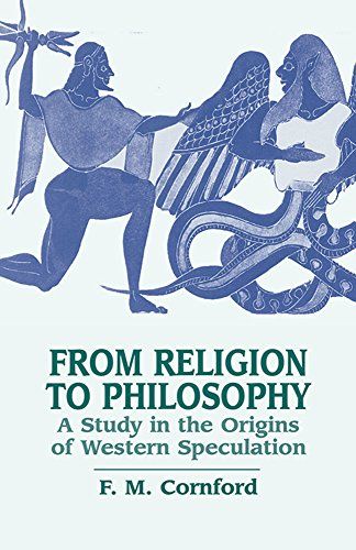 9780486433721: From Religion to Philosophy: A Study in the Origins of Western Speculation