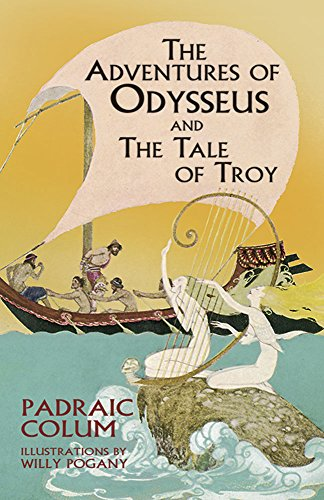 9780486434551: The Adventures of Odysseus and The Tale of Troy (Dover Children's Classics)