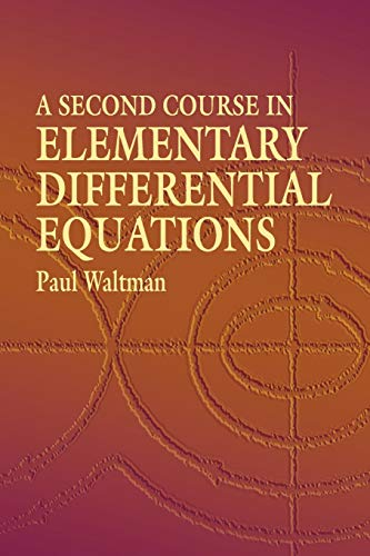 9780486434780: A Second Course in Elementary Differential Equations (Dover Books on Mathematics)