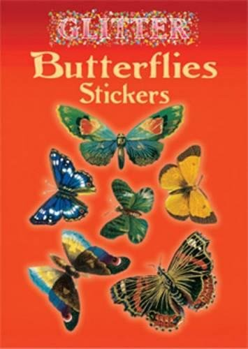 Glitter Butterflies Stickers (Dover Stickers)