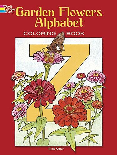9780486435954: Garden Flowers Alphabet: Coloring Book