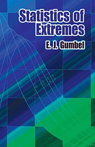 9780486436043: Statistics of Extremes (Dover Books on Mathematics)
