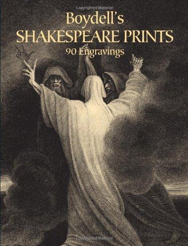 Boydell's Shakespeare Prints: 90 Engravings (Dover Fine: Boydell, Josiah, Boydell,
