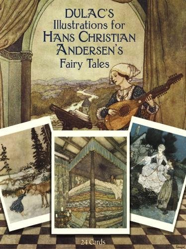 Dulac's Illustrations for Hans Christian Andersen's Fairy Tales: 24 Cards (Dover Postcards)...