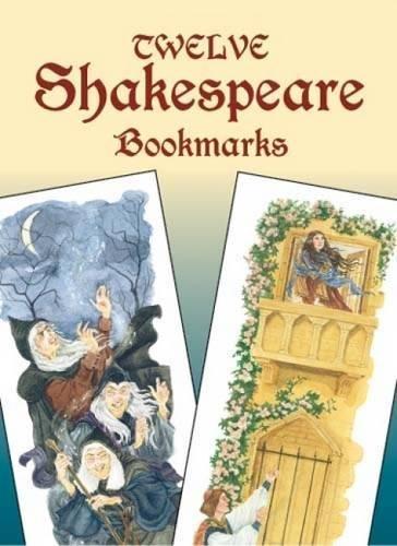 9780486436760: Twelve Shakespeare Bookmarks (Dover Bookmarks)