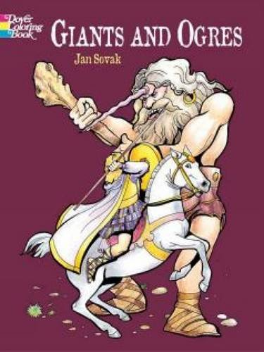 9780486436807: Giants and Ogres Coloring Book