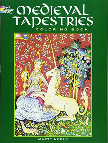 Medieval Tapestries Coloring Book Dover Books