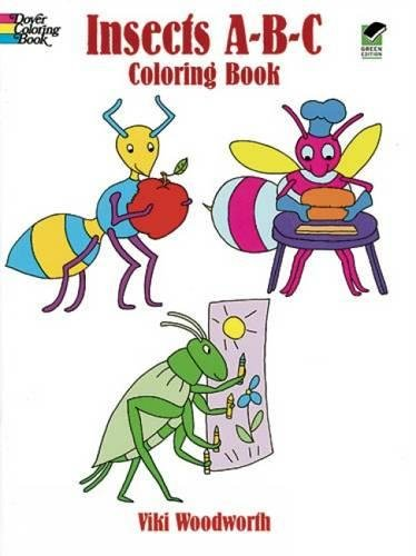 9780486436890: Insects A-B-C Coloring Book (Dover Coloring Books)