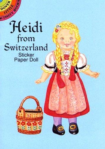 9780486436913: Heidi From Switzerland  Paper Doll
