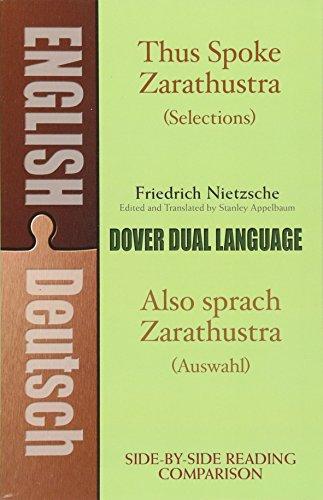 Thus Spoke Zarathustra (Selections) / Also sprach: Friedrich Nietzsche