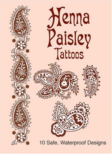 9780486437163: Henna Paisley Tattoos