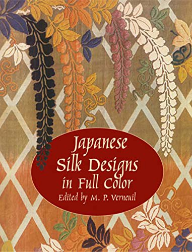 Japanese Silk Designs In Full Color: Verneuil, M. P.