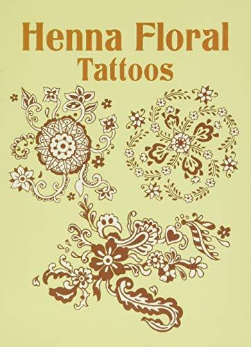 9780486437330: Henna Floral Tattoos (Dover Tattoos)
